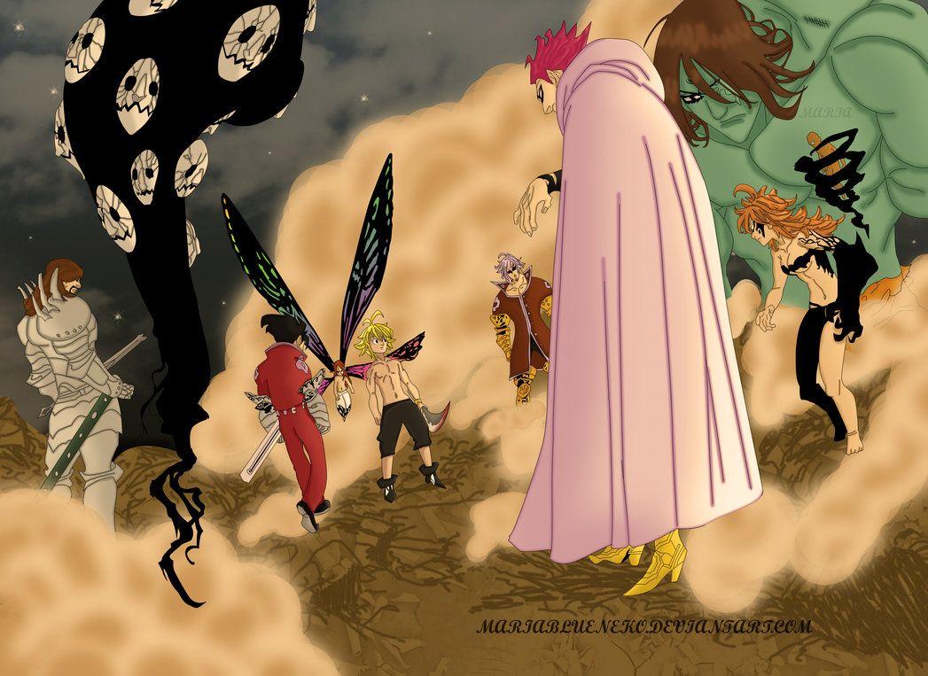 Meliodas Y Los Mandamientos 174 Vs2 By Mariablueneko On Deviantart Seven Deadly Sins Anime Seven Deadly Sins Anime