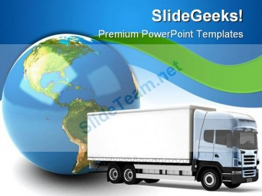 Transportation truck globe powerpoint templates and powerpoint transportation truck globe powerpoint templates and powerpoint backgrounds 0311 toneelgroepblik Image collections