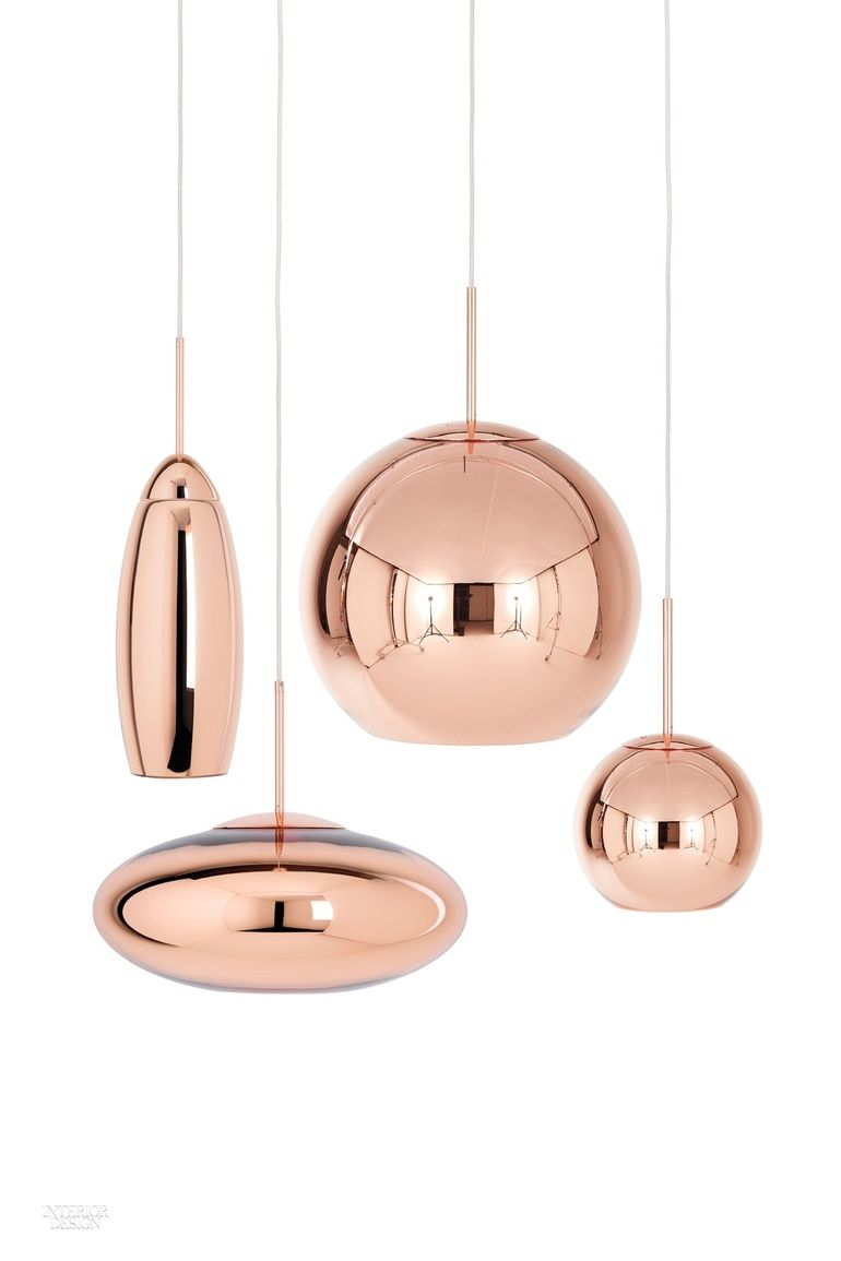 What S New With Tom Dixon Perennial Hit Maker Copper Lighting Wide Pendant Light Glass Lighting