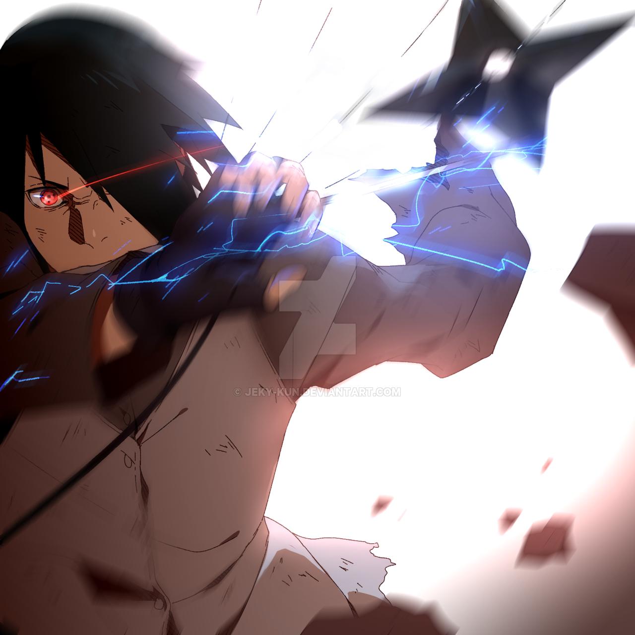 Boruto Episode 65 Tribute (Sasuke FanArt) by Jeky-kun