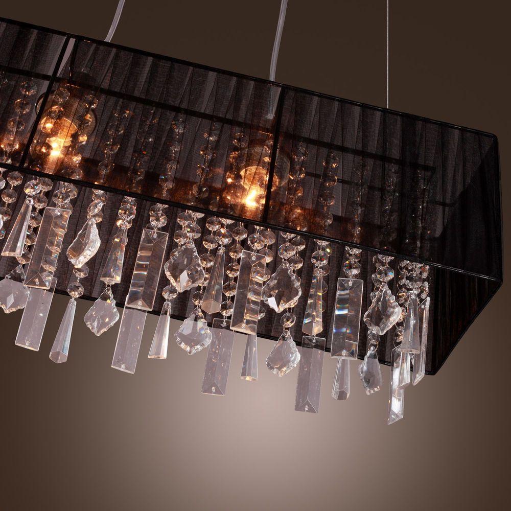2014 New Hq Crystal Chandelier Ceiling Lamp Pendant Light Fixture Modern Crystal Pendant Lighting Pendant Light Fixtures Crystal Lighting