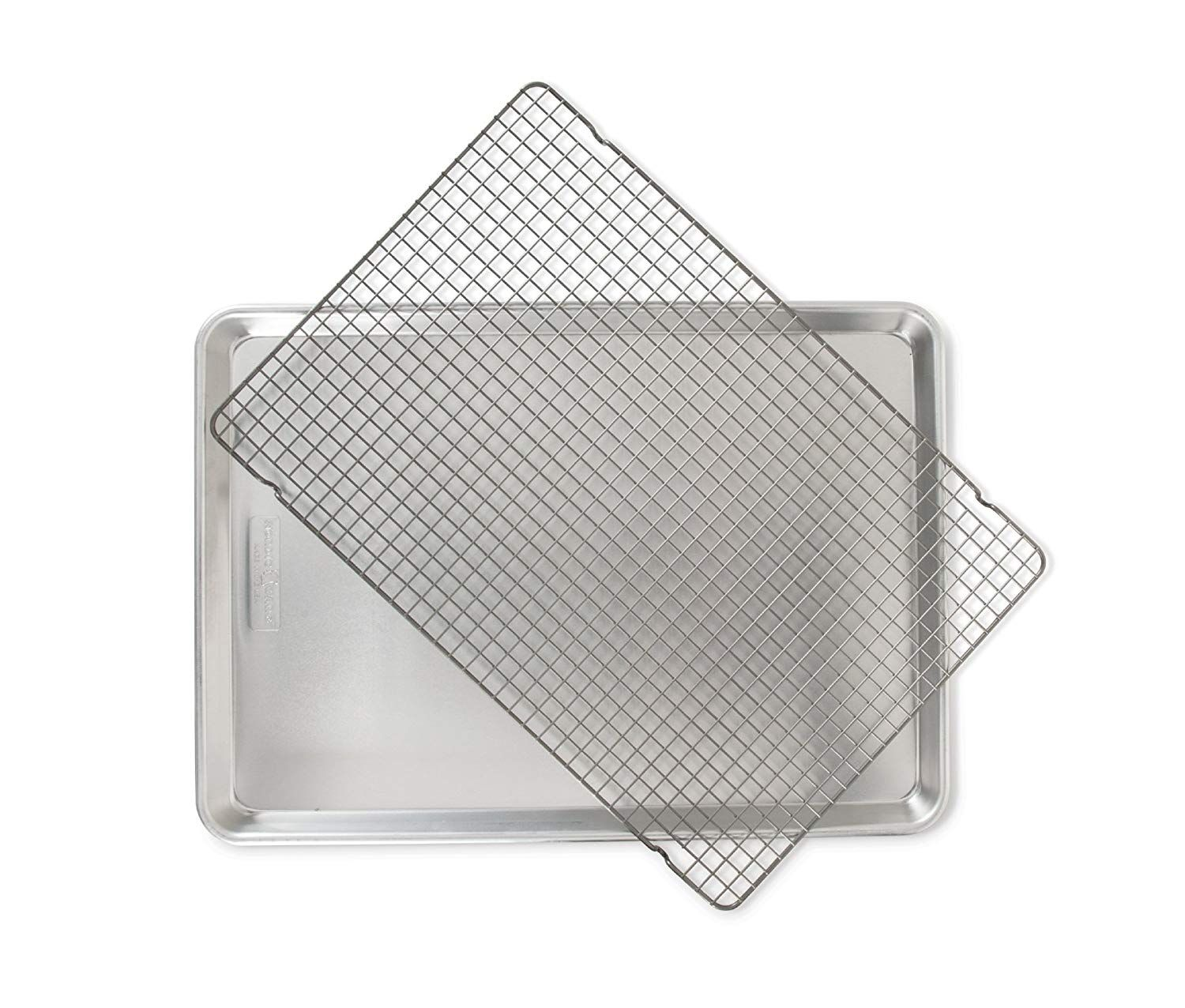 Nordic Ware 2 Piece Big Sheet With Oven Safe Grid Want To Know