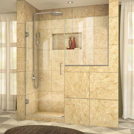 Dreamline Unidoor Plus 57 57 1 2 In W X 72 In H Hinged Shower