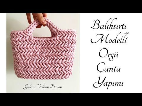 Herringbone stitch crochet handbag is an useful, comfortable and stylish accessory every woman should have in a closet. This versatile crochet handbag is...
