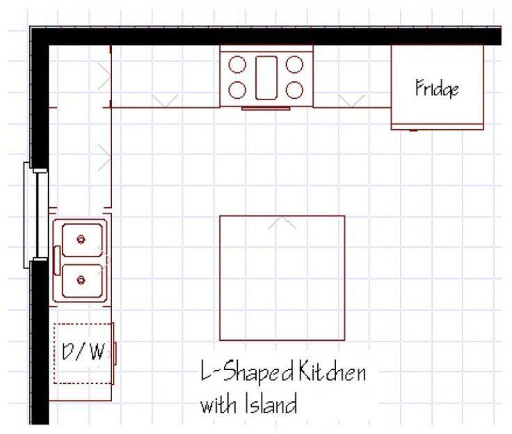 9x11 L Shape Kitchen Google Search L Shape Kitchen Layout L