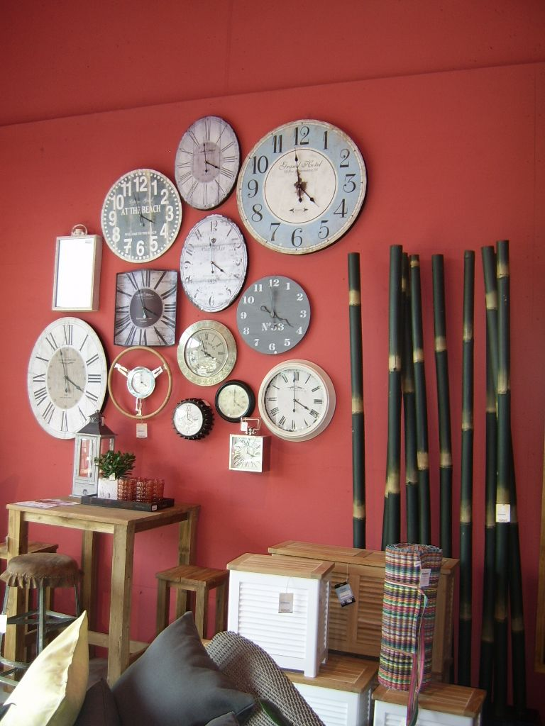 Wall Clocks of Different Sizes