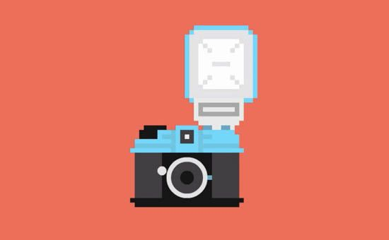 A Diana F+ in pixel art. (Image credit: BIlly Brown)