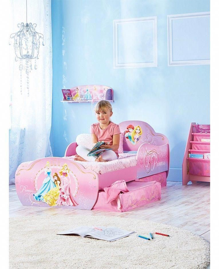 This Fantastic Disney Princess Toddler Bed Will Make Going To Bed