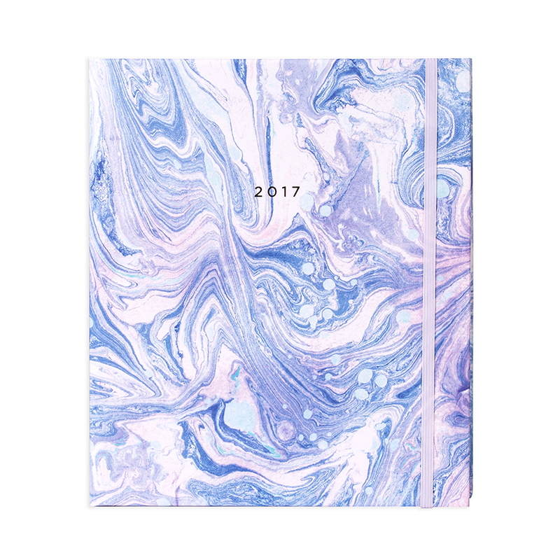 17M MARBLE PLANNER ARCTIC BLUE Marble planner, Monthly