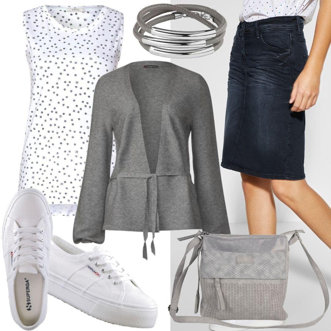 wholesale dealer 100% top quality discount shop CECIL Lässiger Jeansrock Women Outfit für Damen zum ...
