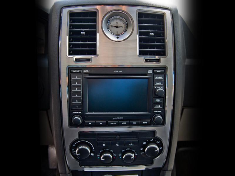 2005 2010 Chrysler 300 Center Dash Trim Nav Models Brushed