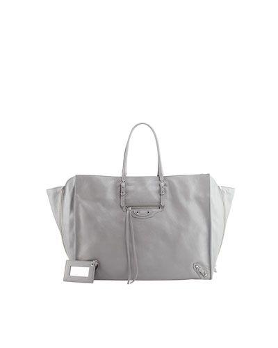 da583d251d Balenciaga Papier A4 Side Zip Tote Bag