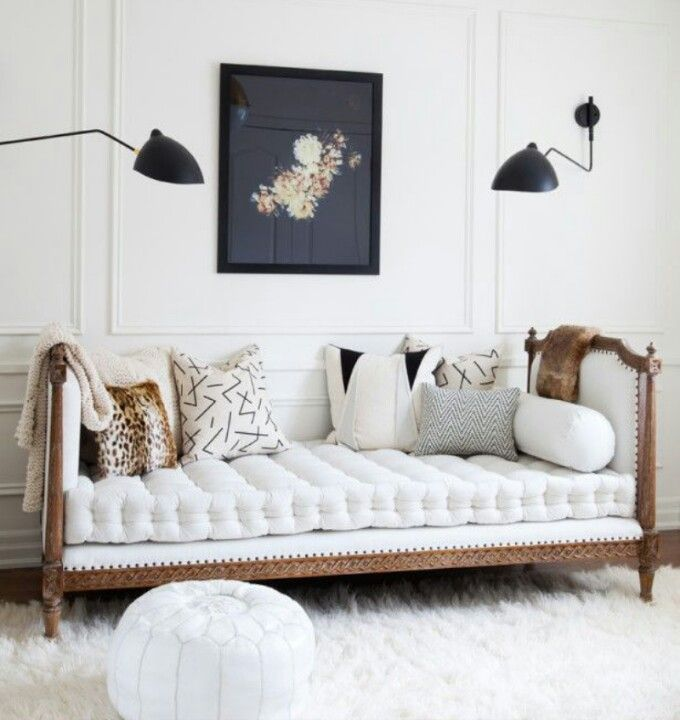King Bed Bedroom Nice Bedroom Decor Bedroom Chairs Ikea Art Deco Bedroom Wallpaper: Sofa With French Mattress Seat Cushion