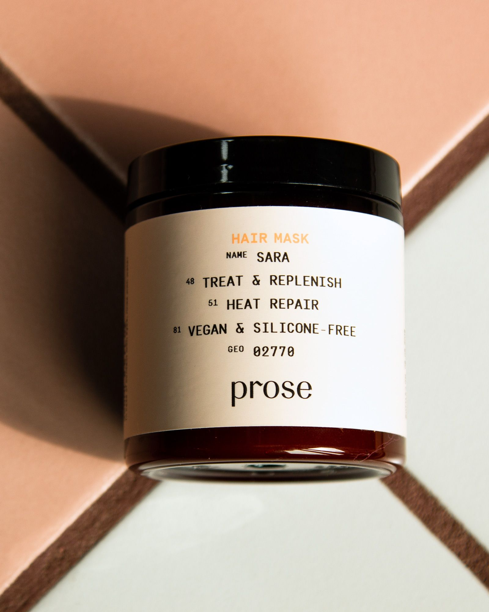 Prose Hair Care Customized Shampoo Mask. The first step to