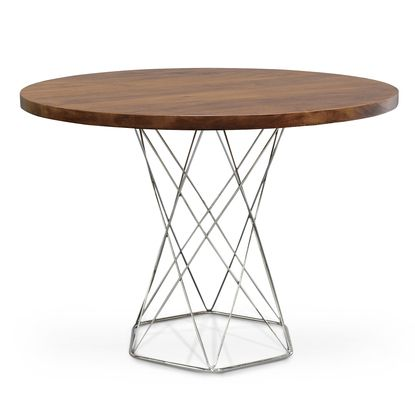 "42"" stockholm round dining table by palecek 