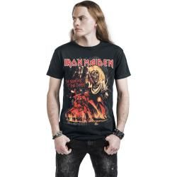 Iron Maiden Number Of The Herren-T-Shirt - schwarz - Offizielles Merchandise
