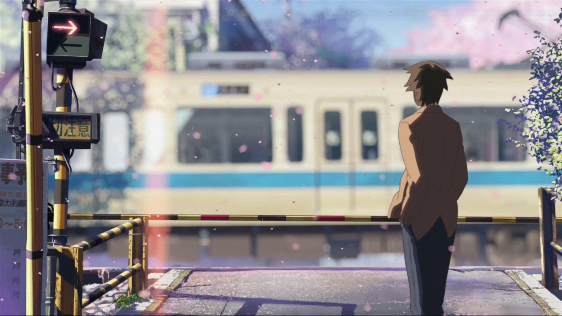 5 Centimeters Per Second Romantic anime, Anime scenery