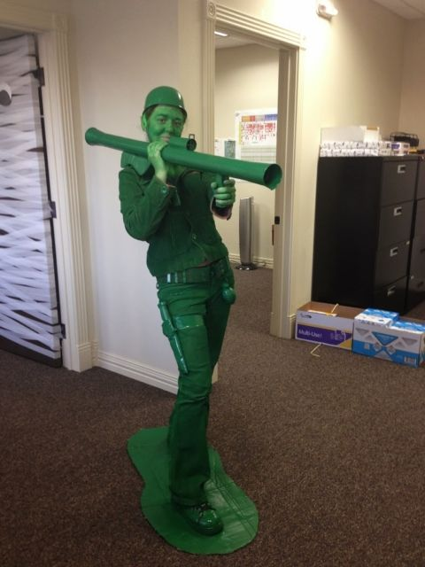 Make your own army man