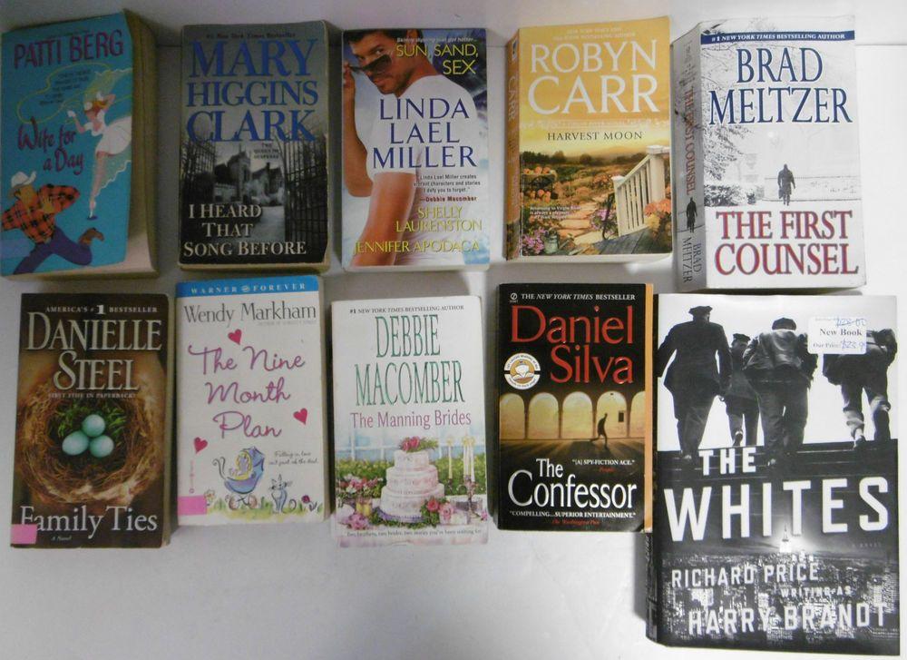 TEN (10) ASSORTED BOOKS DANIELLE STEEL, RICHARD PRICE
