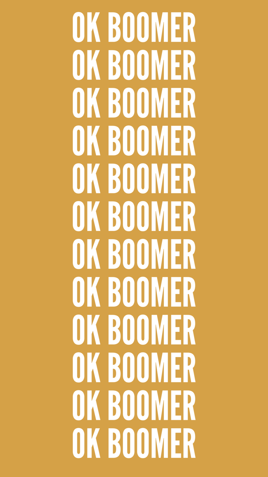 ok boomer wallpaper okboomer Iphone wallpaper pattern