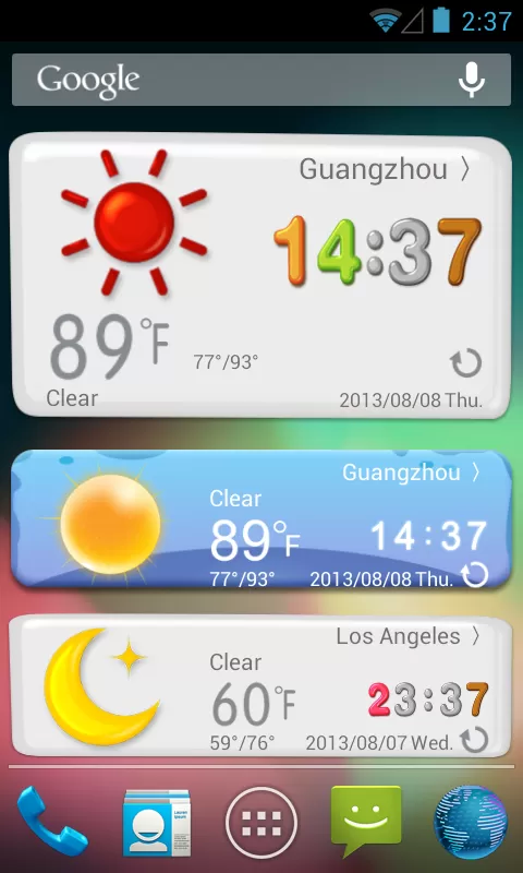 Magic Widgets (Weather ) v1.0 Requirements 2.2 and up
