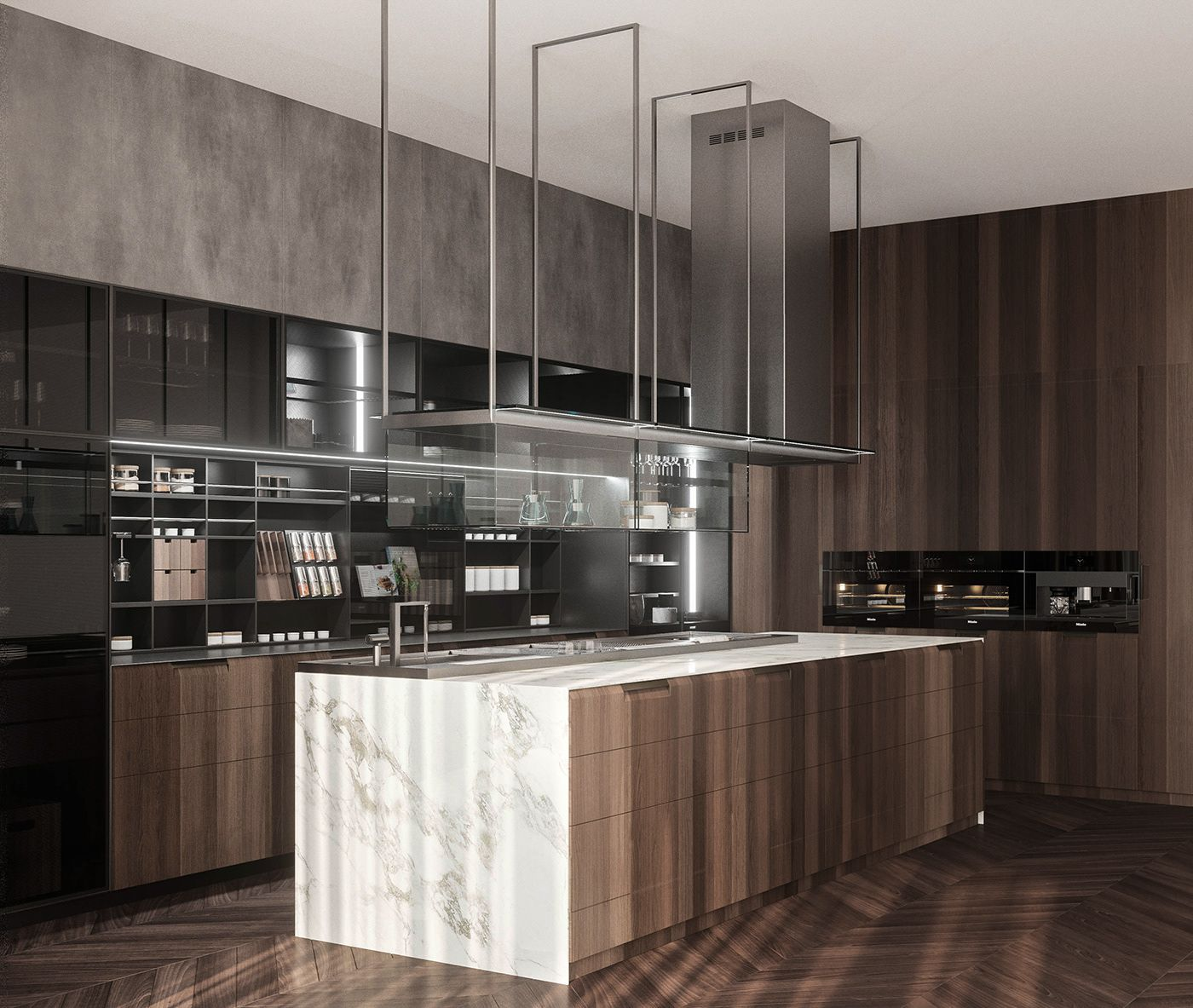 Poliform Kitchen on Behance | Poliform, Kitchen, Modern ...