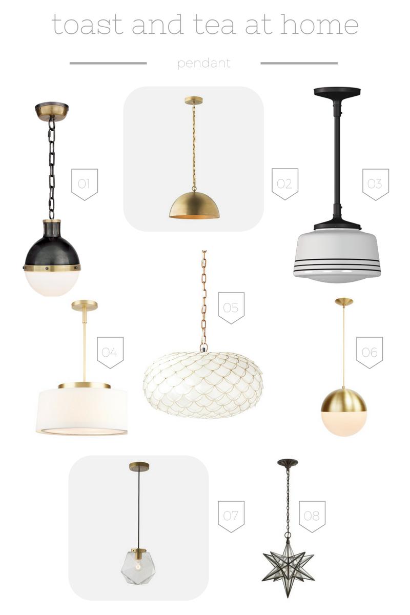 home office lighting | toast & tea blog