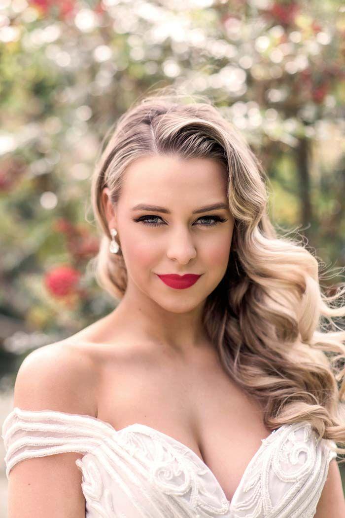 Classic Wedding Hair and Makeup Ideas - Wedding Beauty Styles