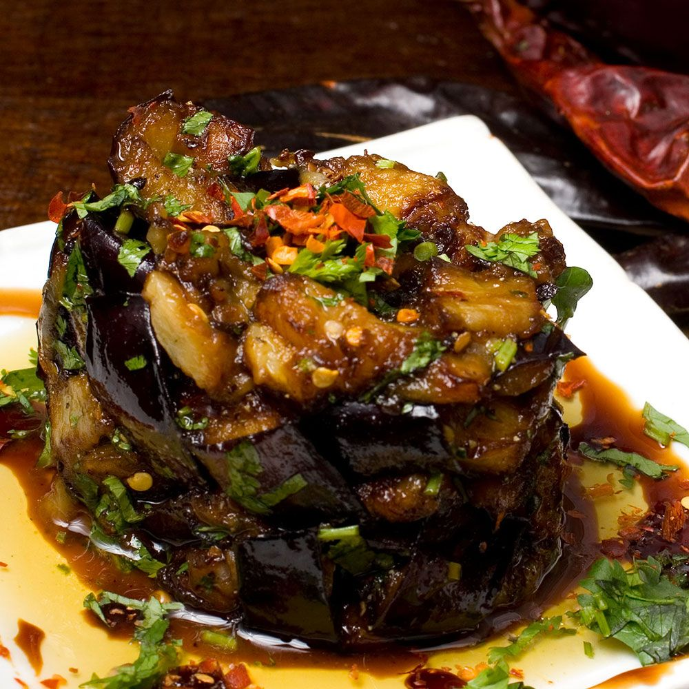 Learn To Cook Moroccan Eggplant Salad #eggplant #recipe