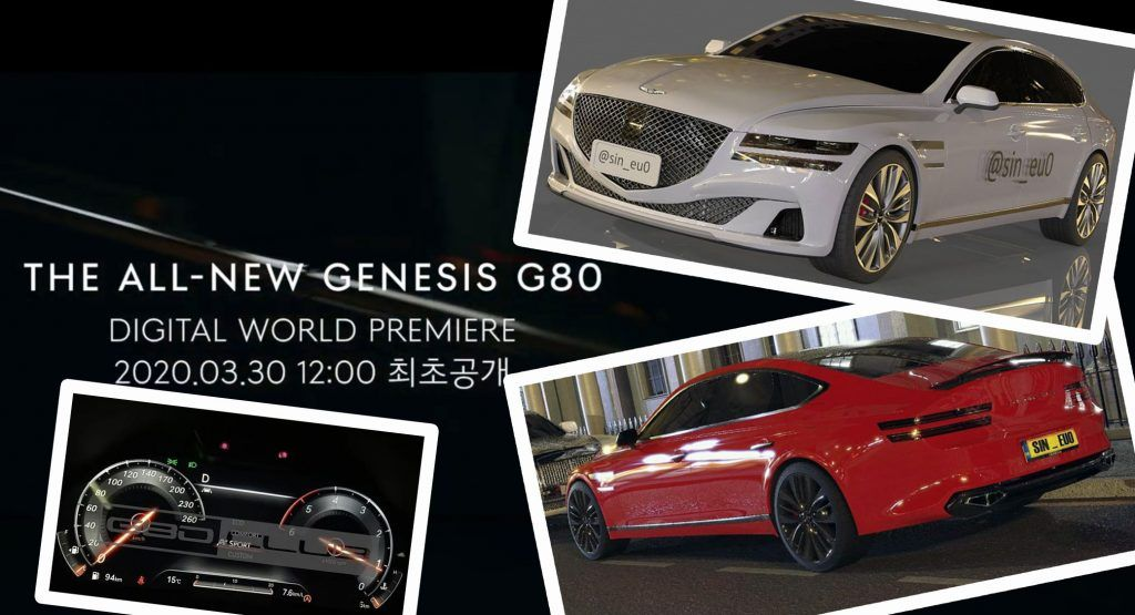 Official 2021 Genesis G80 Sedan To Be Revealed On March 30 New Photos Renditions Emerge In 2020 Sedan Living In Car New Hyundai