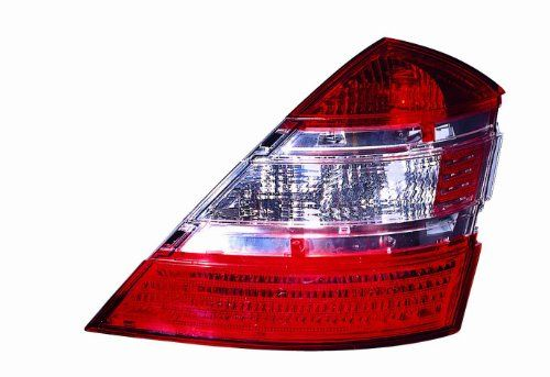 Depo 3401907rus Mercedesbenz Sclass Passenger Side Replacement Taillight Unit Without Bulb To View Further For This I Light Accessories Car Lights Car Hacks