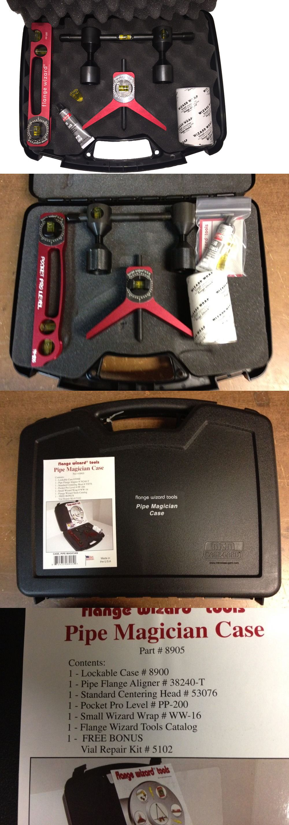 Welding and Soldering Tools 46413: Flange Wizard 8905 Pipe Magicians Work Kit -> BUY IT NOW ONLY: $240 on eBay!