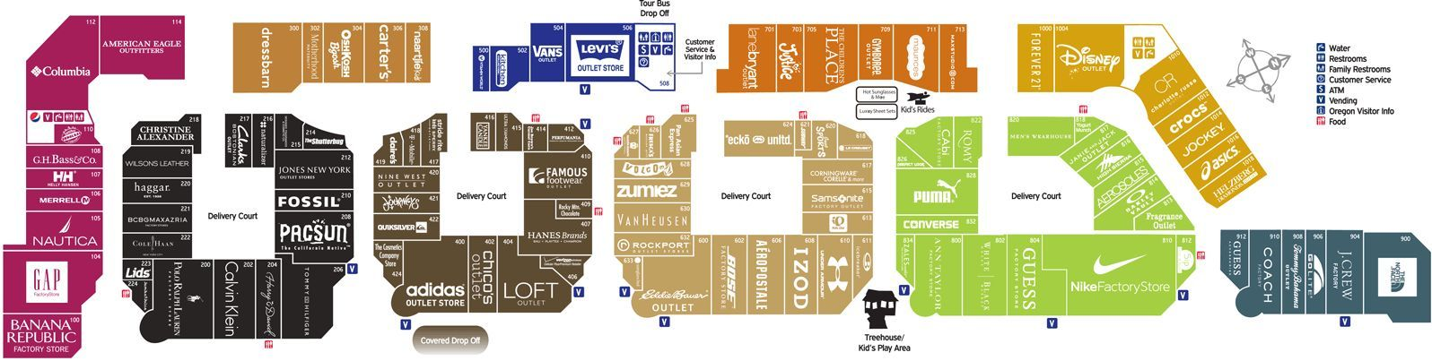 Woodburn Outlet Map Shopping with no sales tax! Woodburn Company Stores | So excited  Woodburn Outlet Map
