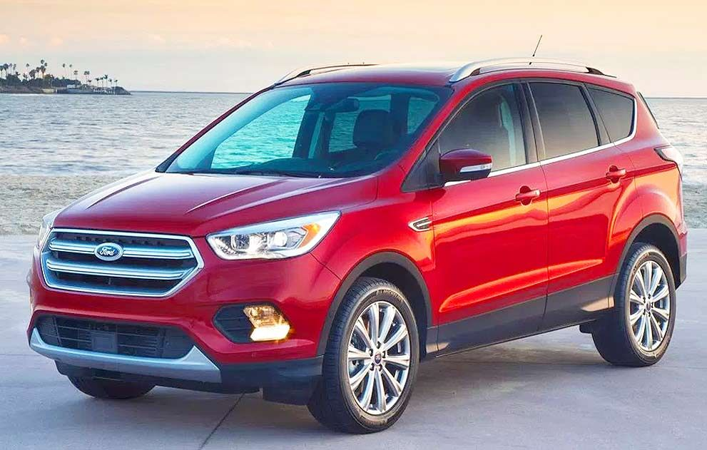 2019 Ford Escape Interior and Exterior Vehicles 2017