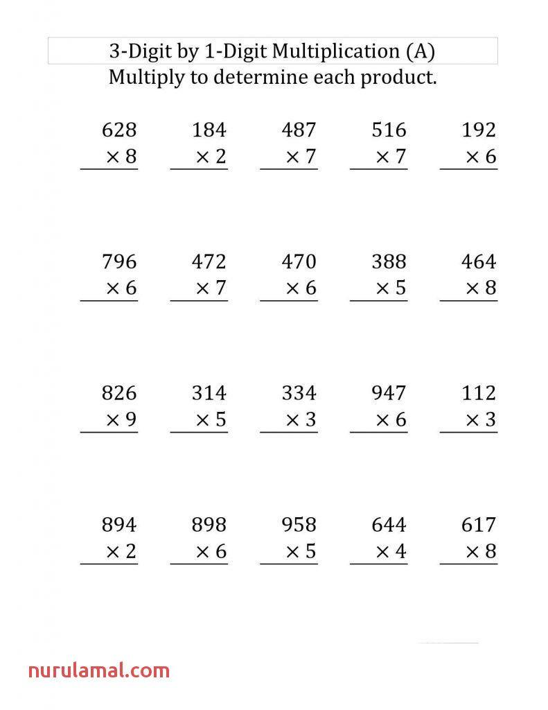 Printable Math Multiplication Worksheets Multiplication Worksheets 4th Grade Multiplication Worksheets Free Math Worksheets