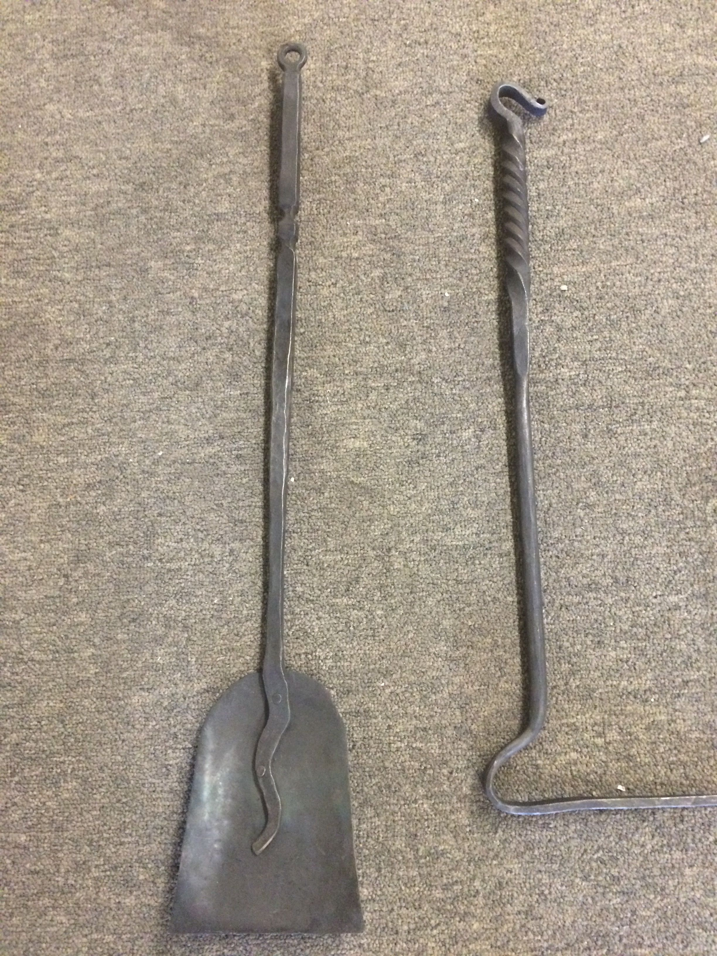 Hand Forged Fireplace Tools Fireplace Tools Cooking Tools
