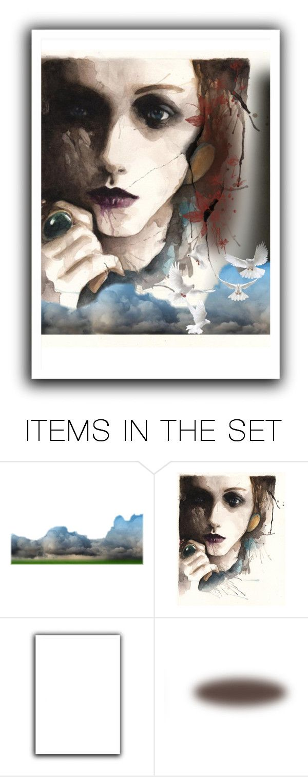 """""""Emotions"""" by lubime ❤ liked on Polyvore featuring art"""