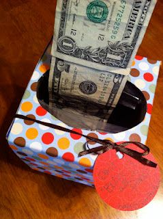 Gift Idea Money Tissue Box I Recently Made This For An 18 Year Old And It Was A Big Hit