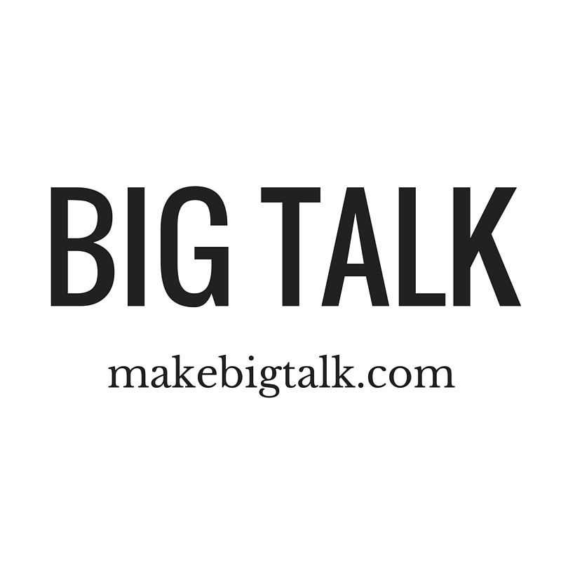 Thank you, BIG TALK, 2 Years in the Making! | Pinterest | Deep ...