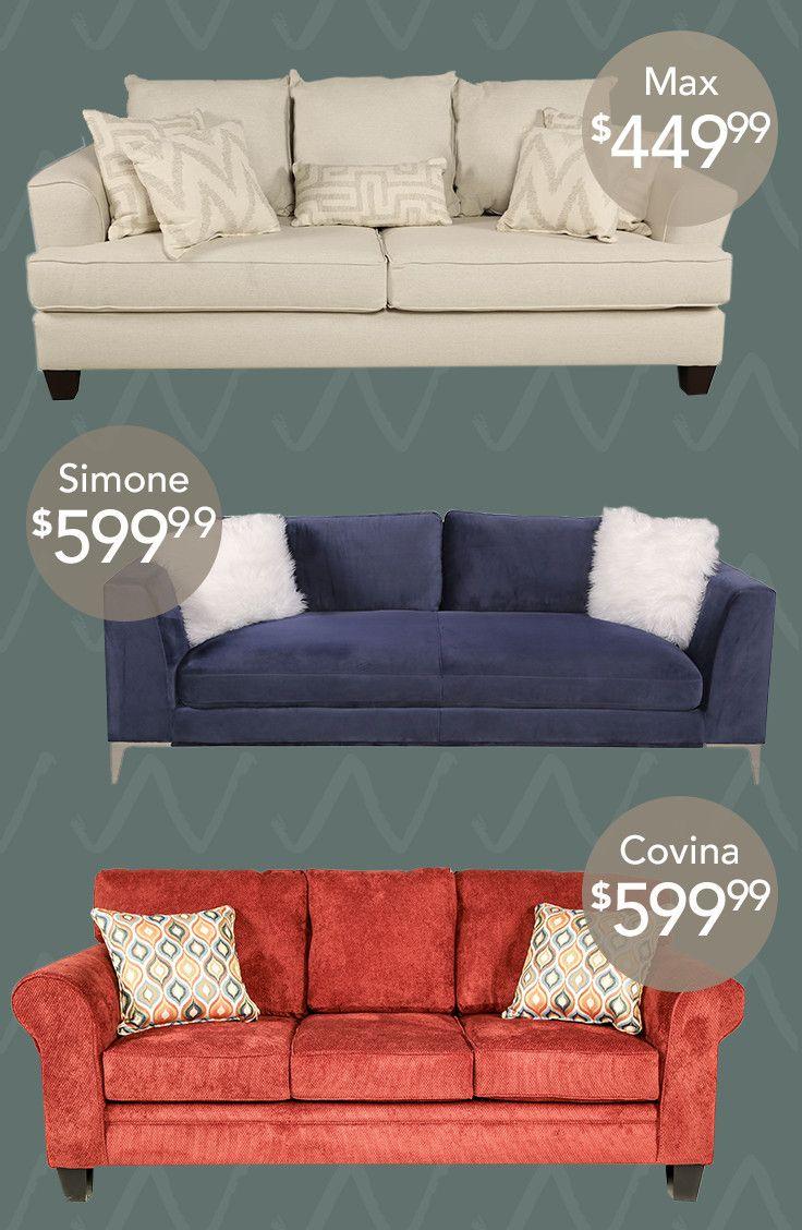Max Sofa Bed Pillows Love Seat