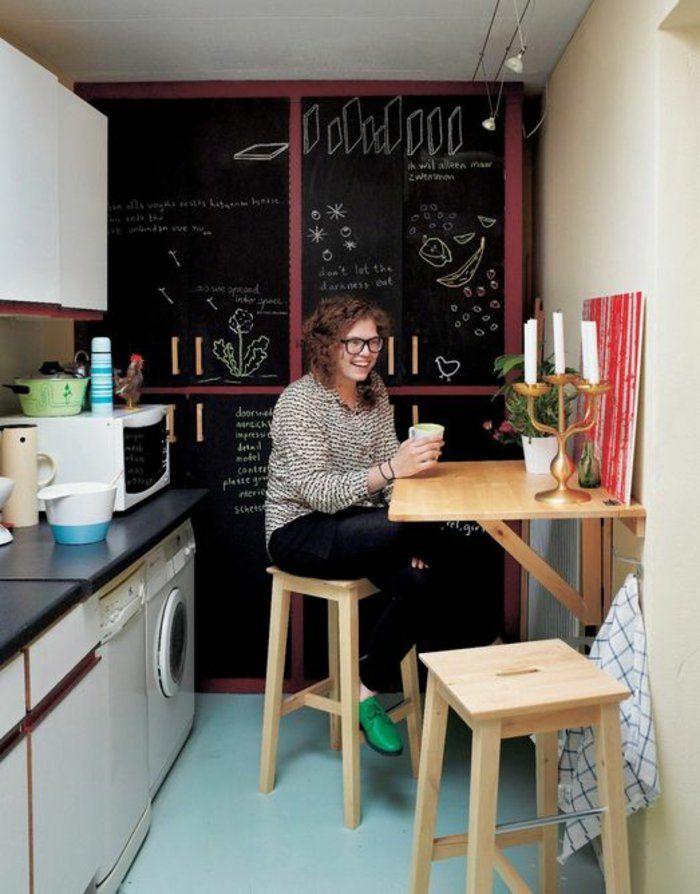 La Table De Cuisine Pliante 50 Idees Pour Sauver D Espace