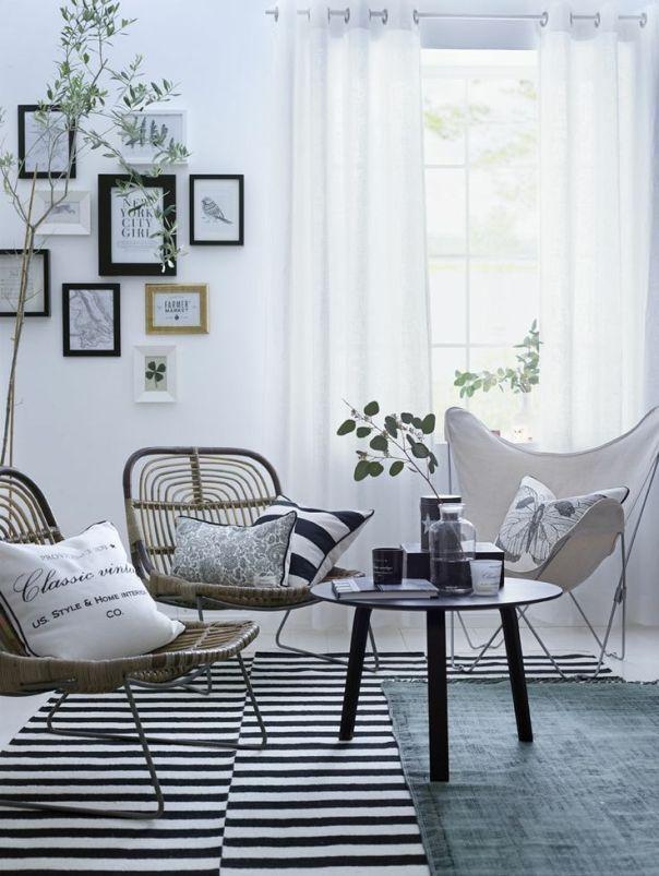 Cortinas y estores en el estilo n rdico deco pinterest - Deco estilo nordico ...