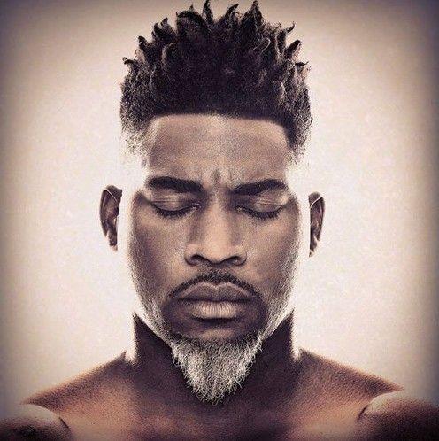 Super barbe homme noir 8 | Coiffures pour homme noir et métis  QB26