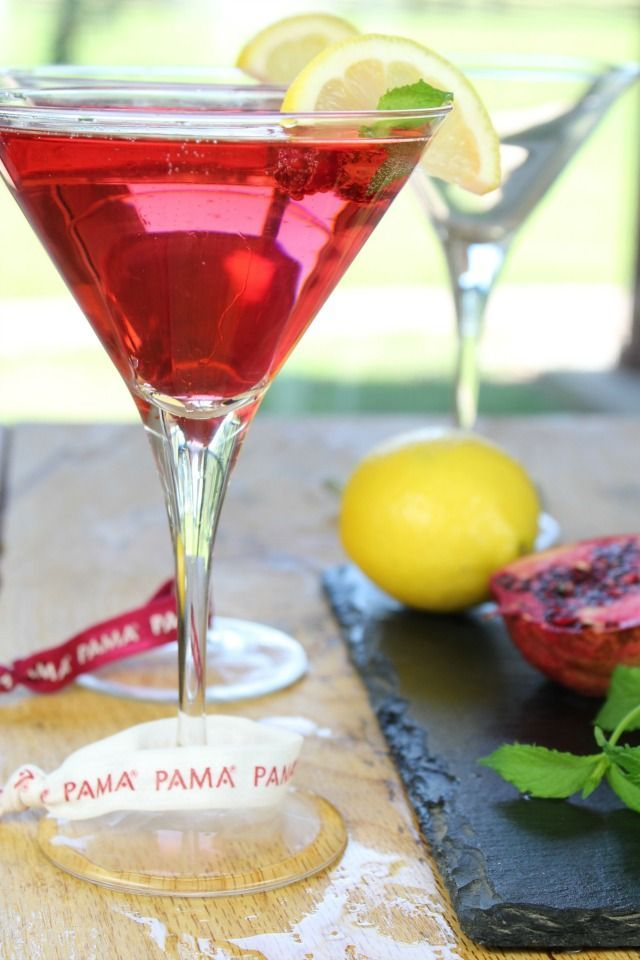 PAMA Summer Punch Cocktail ~ Celebrate Summer ~ Recipe from Miss in the Kitchen #PAMACelebrateSummer #ad