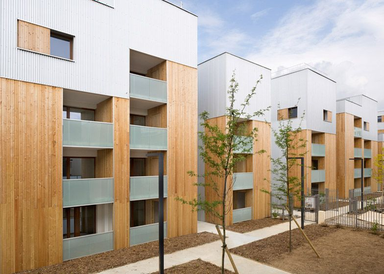 Parisian Social Housing Designed To Match The Proportions Of Its