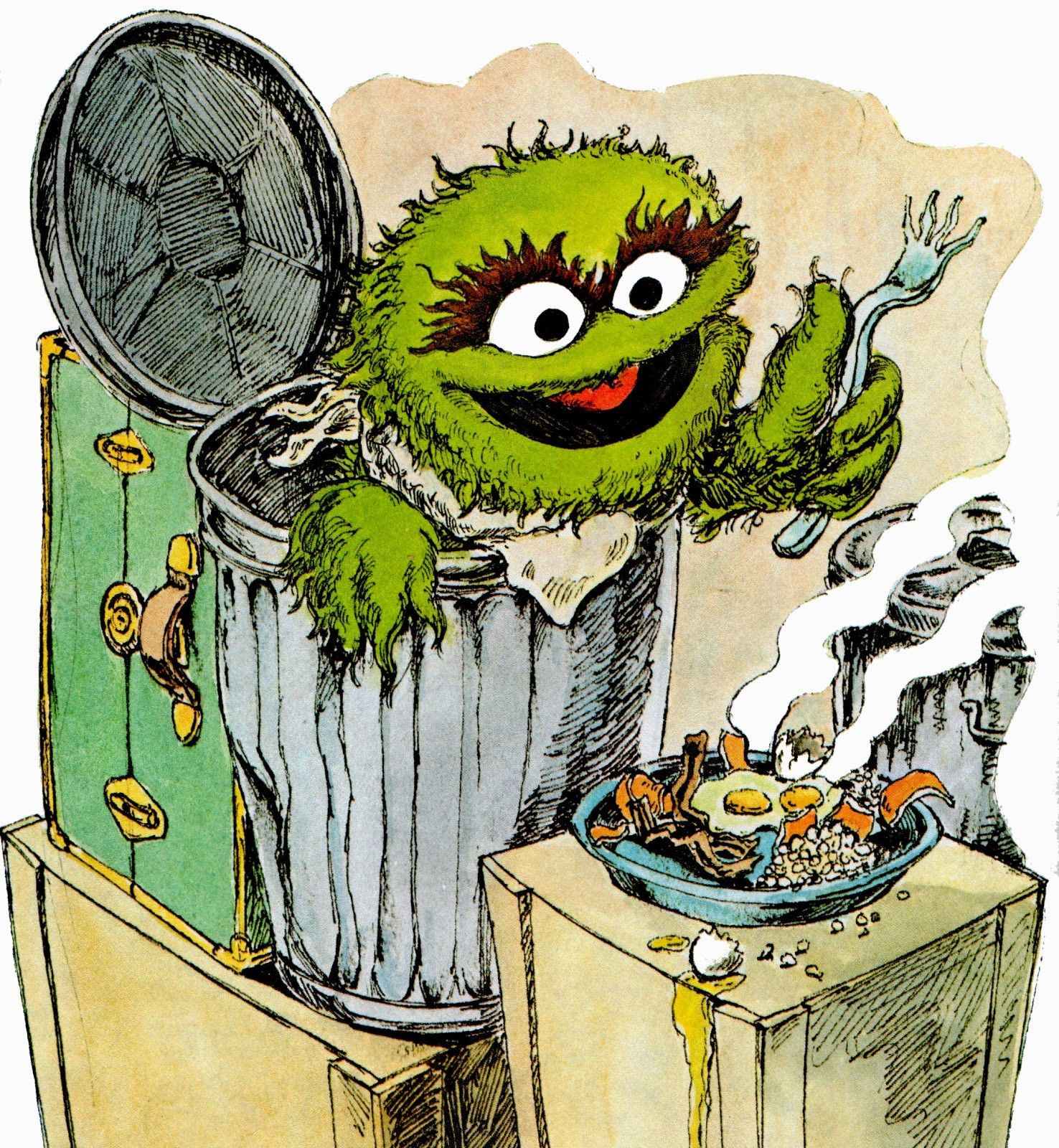 What Are We Optimizing Sesame Street Muppets The Muppet Show Oscar The Grouch
