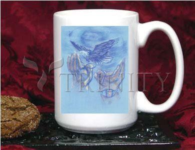 Coffee-Tea Mug (15 oz) - Eagle Flying in Freedom by B. Gilroy   Trinity Stores