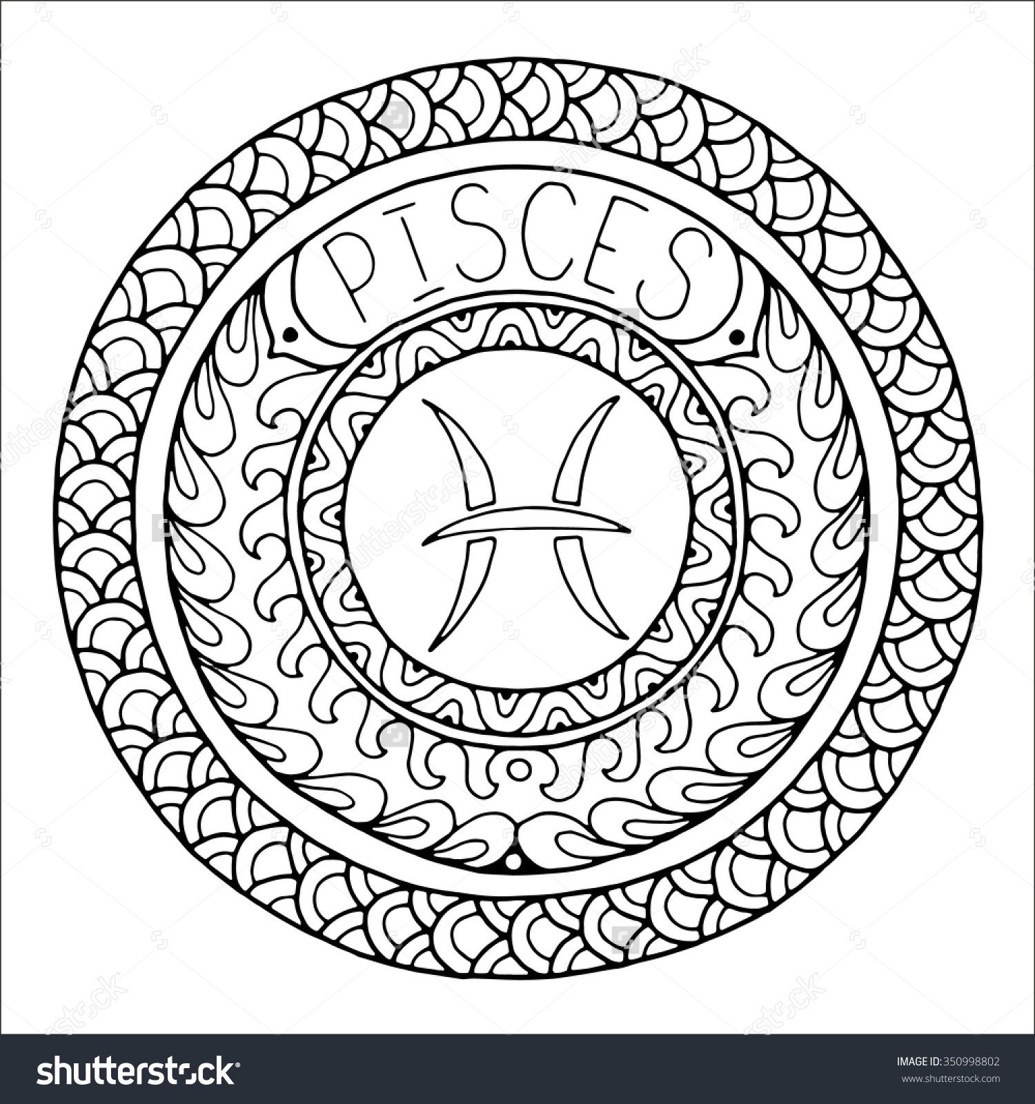 Zodiac Sign Of Pisces  Shutterstock   Tattoo