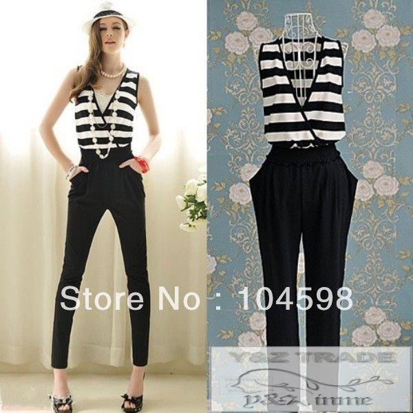 50512523ebd4 el tamaño de mamelucos largo pantalones para mujer fh-10912 monos ...