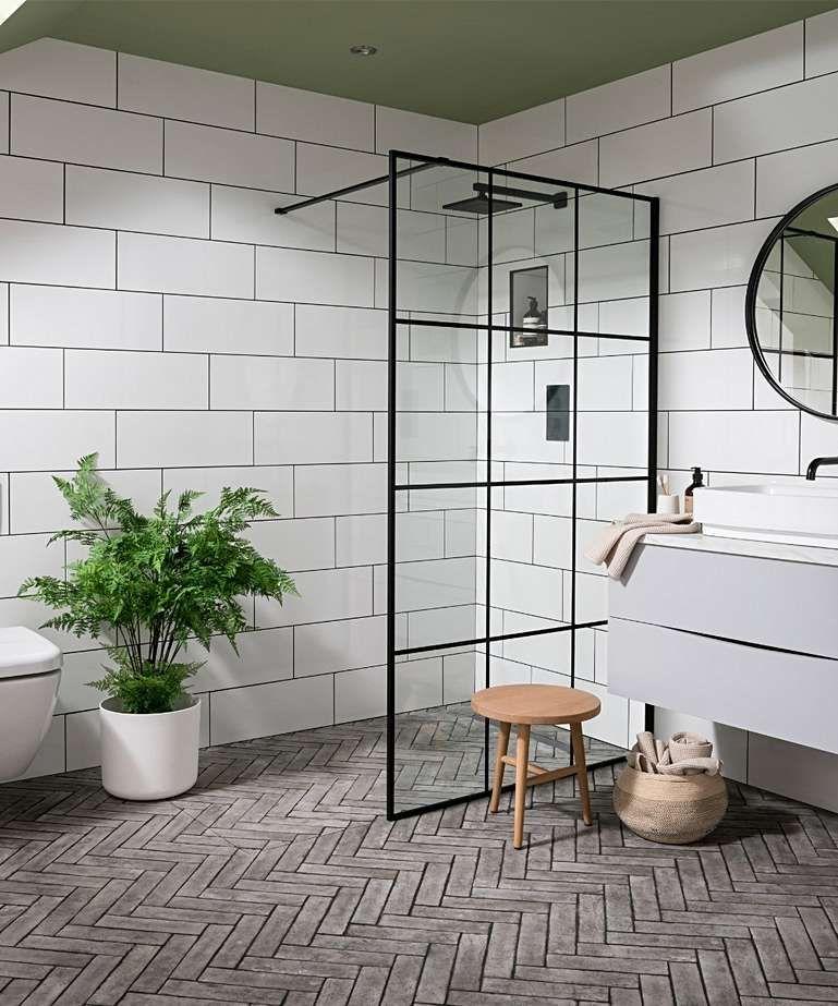simply™ gloss tile 20cm x 25cm in 2020  white tile